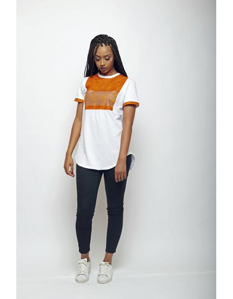 new york hot sale online buy best T-shirt Femme oversize wax par LENADREAMS.